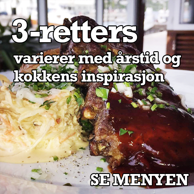 3-retters meny