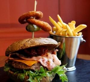 Gastropub burgermeny